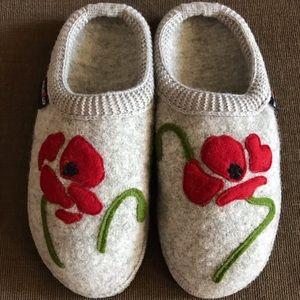 New!!! Boiled Wool Flower 🌺 Slippers